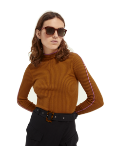 Scotch & Soda - Contrasting Piping Knitted Sweater