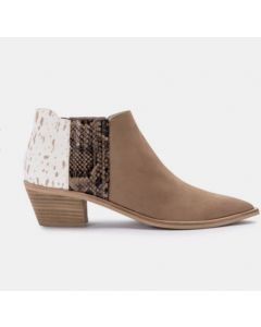 Shana Booties in Taupe- Dolce Vita